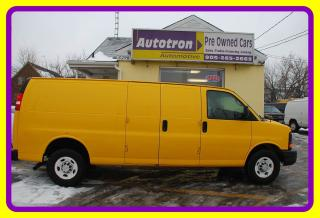 Used 2012 Chevrolet Express 2500 3/4 Ton Extended Cargo Van for sale in Woodbridge, ON