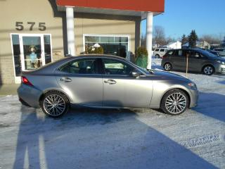 Used 2014 Lexus IS 250 PREMIUM traction intégrale for sale in Lévis, QC