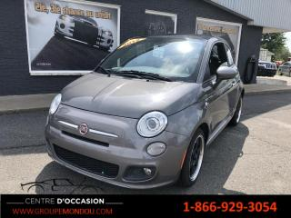 Used 2012 Fiat 500 for sale in St-Georges-de-Champlain, QC