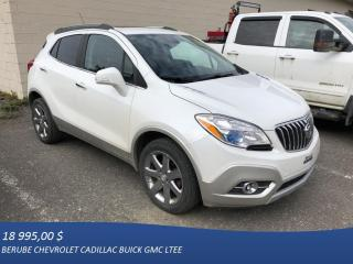 Used 2016 Buick Encore AWD Leather for sale in Rivière-Du-Loup, QC