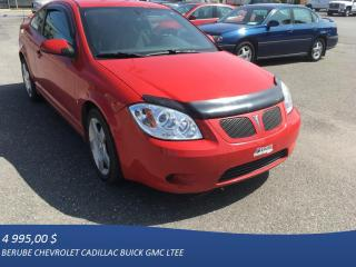 Used 2009 Pontiac G5 GT for sale in Rivière-Du-Loup, QC