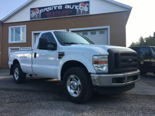Used 2009 Ford F-350 diesel cab regulier for sale in Neuville, QC