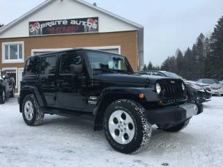 Used 2013 Jeep Wrangler jeep WRANGLER sahara for sale in Neuville, QC