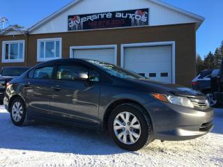 Used 2012 Honda Civic honda civic  LX for sale in Neuville, QC