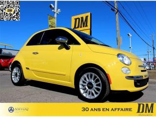 Used 2013 Fiat 500 C Cuir Mags Bluetooth for sale in Salaberry-de-Valleyfield, QC