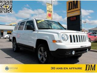 Used 2015 Jeep Patriot HIGH ALTITUDE AWD CUIR TOIT SIEGE ELECTRIQUE for sale in Salaberry-de-Valleyfield, QC