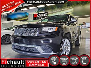 Used 2015 Jeep Grand Cherokee SUMMIT***DIESEL*** for sale in Châteauguay, QC