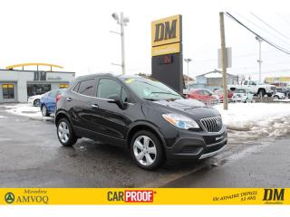 Used 2016 Buick Encore CONVENIENCE AWD 11,800KM  MAGS 18 CAMERA DE RECUL for sale in Salaberry-de-Valleyfield, QC