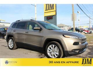 Used 2017 Jeep Cherokee V6 LIMITED ***14 000 KM***  NAVI  PHARES BI-XENON for sale in Salaberry-de-Valleyfield, QC
