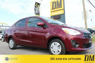 Used 2017 Mitsubishi Mirage A/C for sale in Salaberry-de-valleyfield, QC