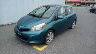 Used 2012 Toyota Yaris LE AIR CLIMATISÉ for sale in St-Hyacinthe, QC