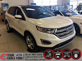 Used 2017 Ford Edge 4 portes Titanium, Traction intégrale Pa for sale in Gatineau, QC