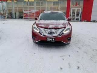 Used 2017 Nissan Murano SV AWD WITH DRIVERS ASSISTANCE PKG for sale in Belleville, ON
