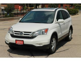 Used 2011 Honda CR-V EX-L 4x4 | Leather | Sunroof | CERTIFIED for sale in Waterloo, ON