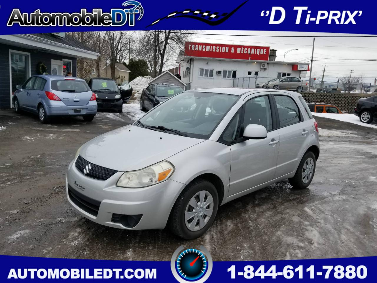 Used 2007 Suzuki SX4 5dr HB JX FWD for Sale in Saint-romuald, Quebec