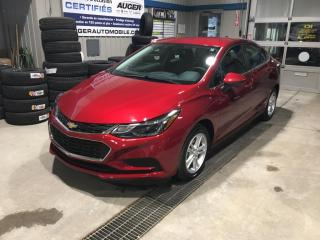 Used 2017 Chevrolet Cruze LT for sale in Nicolet, QC