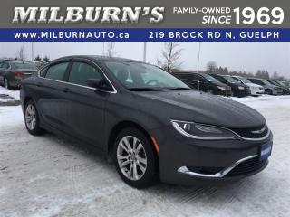 Used 2015 Chrysler 200 Limited for sale in Guelph, ON