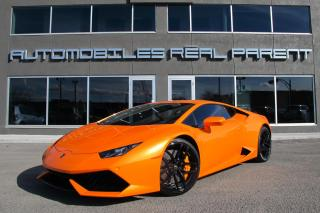 Used 2015 Lamborghini Huracan Lp-610 4 for sale in Québec, QC