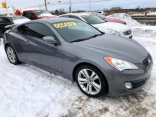 Used 2010 Hyundai Genesis Coupe, 2.0 T, automatic, turbo for sale in Hornby, ON
