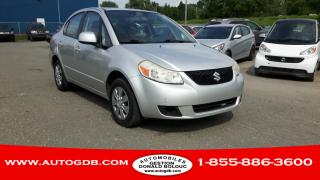 Used 2008 Suzuki SX4 Berline 4 portes tout équipé automatique for sale in Lévis, QC