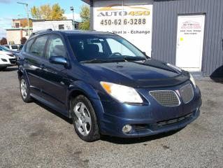 Used 2006 Pontiac Vibe ***GROUPE ÉLECTRIQUE*** for sale in Longueuil, QC