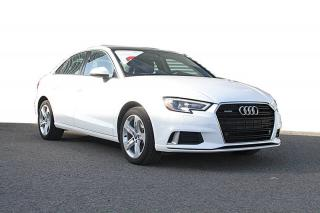 Used 2017 Audi A3 2.0T Komfort quattro berline 4 portes for sale in Ste-Foy, QC