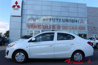 Used 2017 Mitsubishi Mirage AUTOMATIQUE+AIR CLIMATISÉ+GARANTIE 10 ANS/160000KM for sale in St-Hubert, QC