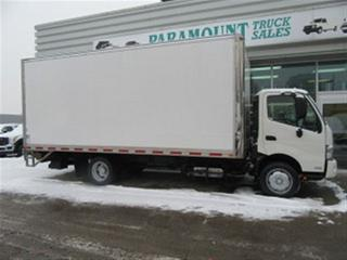 Used 2015 Hino 195 Diesel with 20 ft FRP box plus liftgate for sale in Richmond Hill, ON