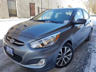 Used 2017 Hyundai Accent SE-sunroof-alloys-super clean for sale in Mississauga, ON