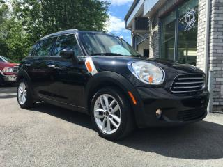 Used 2011 MINI Cooper Countryman 4dr LEATHER **MANUAL 6 SPEED** for sale in Longueuil, QC