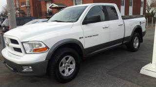 Used 2011 Dodge Ram 1500 4WD Quad Cab OUTDOORSMAN for sale in Le gardeur, QC