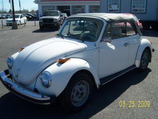 Used 1978 Volkswagen Beetle Cabriolet for sale in Saint-jean-sur-richelieu, QC