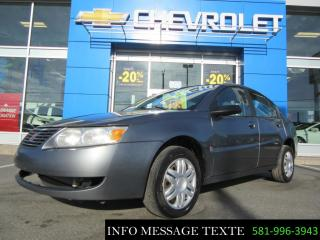 Used 2006 Saturn Ion for sale in Sainte-marie, QC