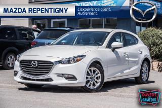 Used 2018 Mazda MAZDA3 Sport GS*LIQUID. DEMO*BANC CHAUF, CAM.RECUL, ANGLE MORT for sale in Repentigny, QC