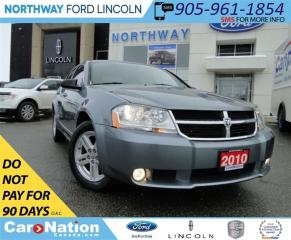 Used 2010 Dodge Avenger SXT | WE WANT YOUR TRADE | OPEN SUNDAYS | for sale in Brantford, ON