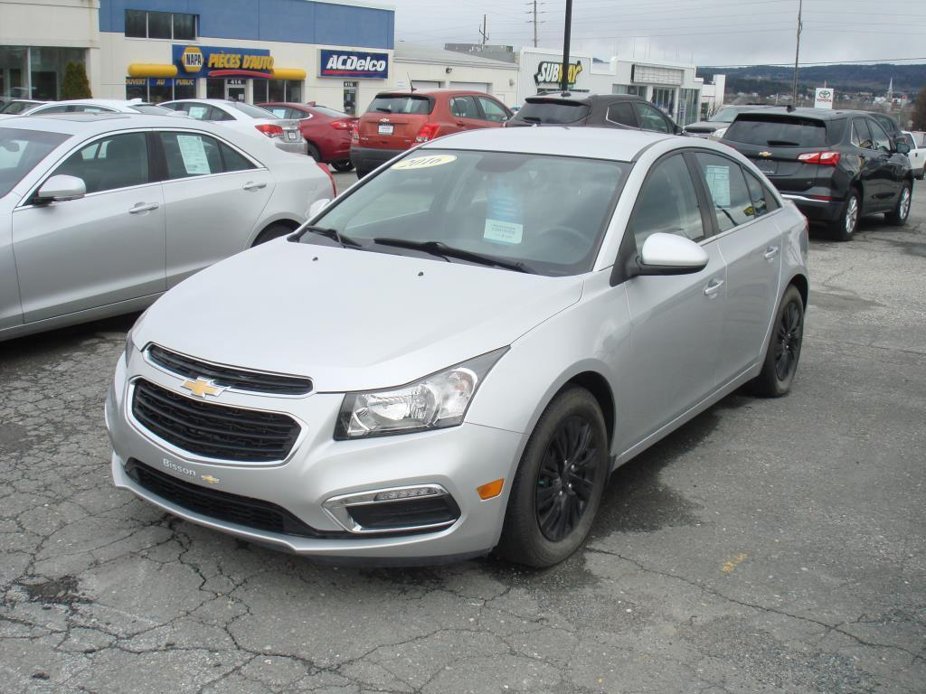 Used 2016 Chevrolet Cruze Limited Lt Turbo For Sale In Thetford Mines Quebec Carpages Ca
