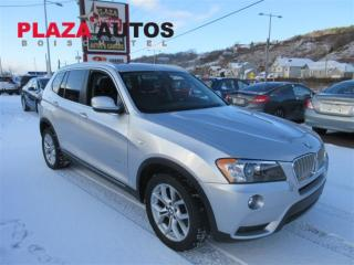 Used 2012 BMW X3 Xdrive28i A8 for sale in Boischatel, QC