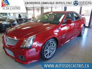 Used 2009 Cadillac CTS-V for sale in Châteauguay, QC