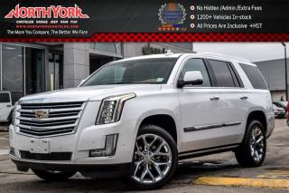 Used 2017 Cadillac Escalade Platinum 4x4|Rr DVD's|Heated Seats|BOSE|Keyless_Go|22