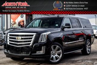 Used 2017 Cadillac Escalade ESV Luxury 4x4|Rr DVD's|Heated Seats|BOSE|HeadsUp|22