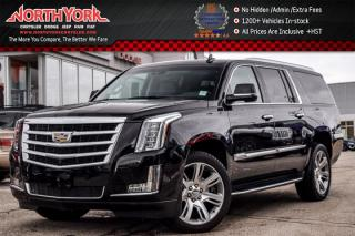 Used 2017 Cadillac Escalade ESV Luxury 4x4|Rr DVD's|HeadsUp|Keyless_Go|BOSE|22