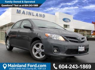 Used 2012 Toyota Corolla LE LOCAL for sale in Surrey, BC