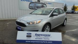 Used 2015 Ford Focus SE, 135hp, Great Fuel Economy for sale in Stratford, ON