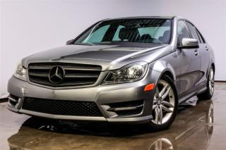Used 2012 Mercedes-Benz C-Class C250 Awd+cuir+toit+r for sale in St-Hubert, QC
