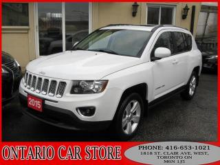 Used 2015 Jeep Compass HIGH ALTITUDE LEATHER SUNROOF BLUETOOTH for sale in Toronto, ON