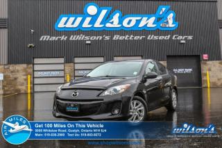 Used 2012 Mazda MAZDA3 GS-SKYACTIV SEDAN! LEATHER! SUNROOF! CRUISE CONTROL! POWER PACKAGE! KEYLESS ENTRY! ALLOYS! 1 OWNER! for sale in Guelph, ON