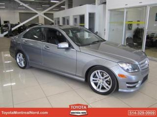 Used 2013 Mercedes-Benz C-Class C300 AWD TOIT+CUIR for sale in Montréal-Nord, QC
