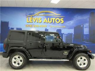 Used 2015 Jeep Wrangler Sahara for sale in Levis, QC