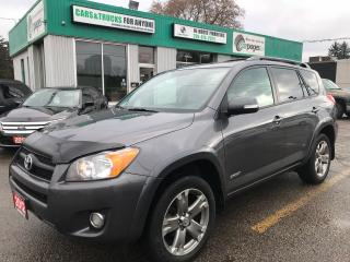 Used 2012 Toyota RAV4 Sport l No Accidents l Backup Cam l Bluetooth for sale in Waterloo, ON