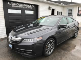 Used 2015 Acura TLX V6 Tech for sale in Kingston, ON
